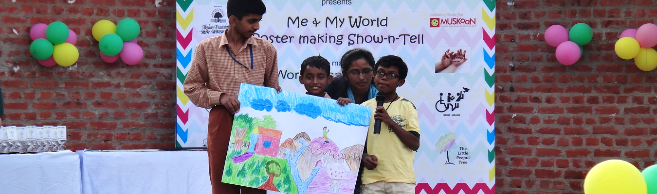 Me & my world event at Dilli Haat